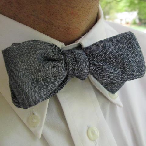 Chambray bow ties?