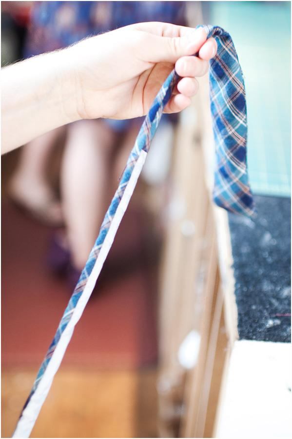 Making old things new turning an old necktie into a bow for How to make new things from old things